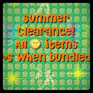 🌞bundle for $5 Summer Clearance🌞